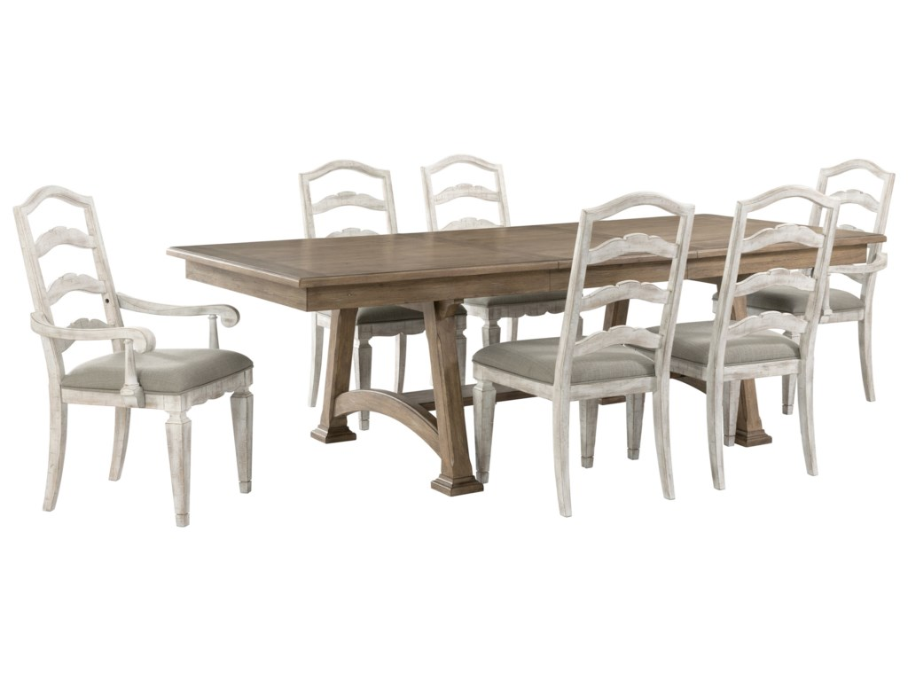 Riverside Furniture Madison7-Piece Table and Chair Set