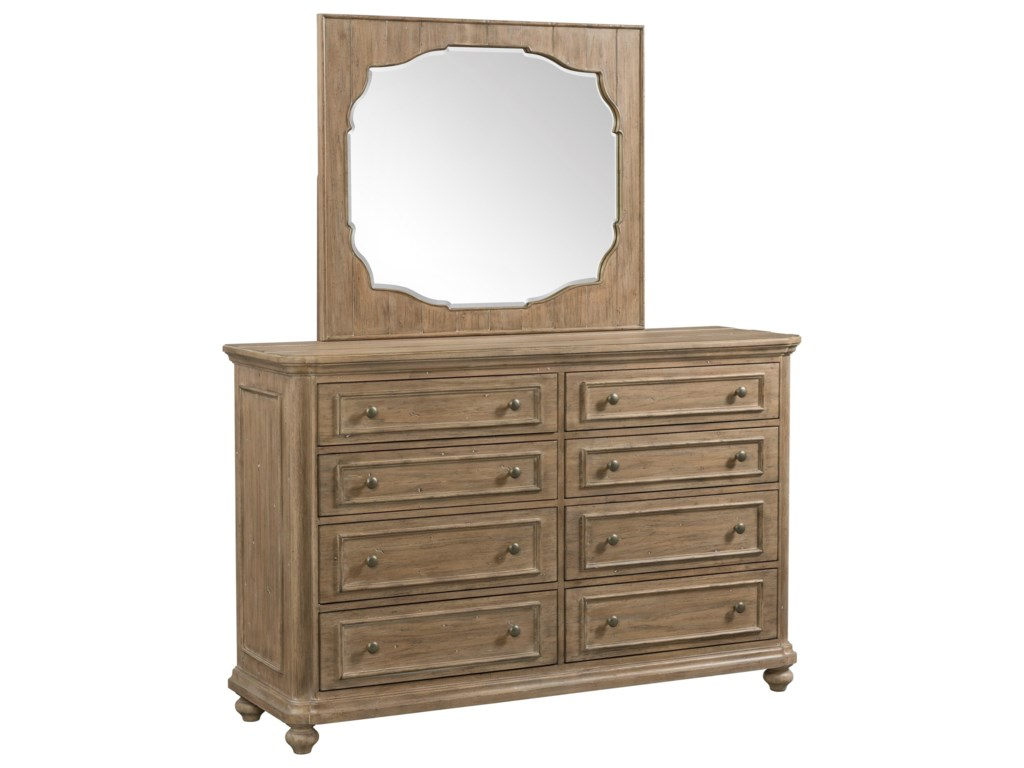 Riverside Furniture MadisonLandscape Mirror