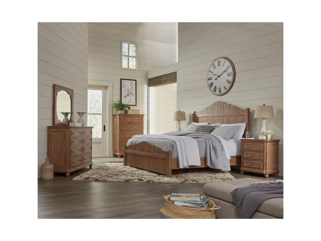 Riverside Furniture Madison3-Drawer Nightstand