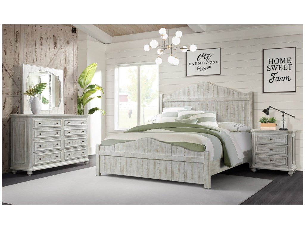 Riverside Furniture MadisonKing Bedroom Group