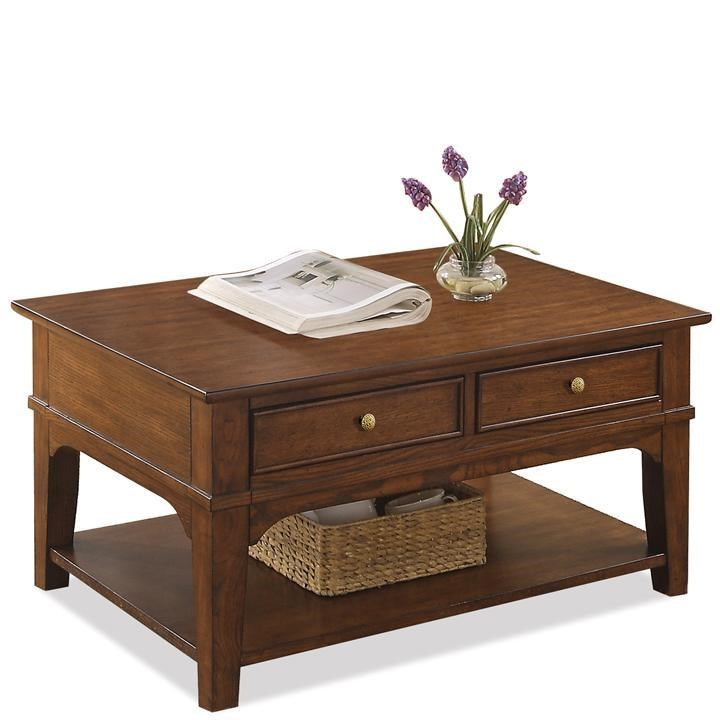 Etonnant Riverside Furniture MarstonCocktail Table ...