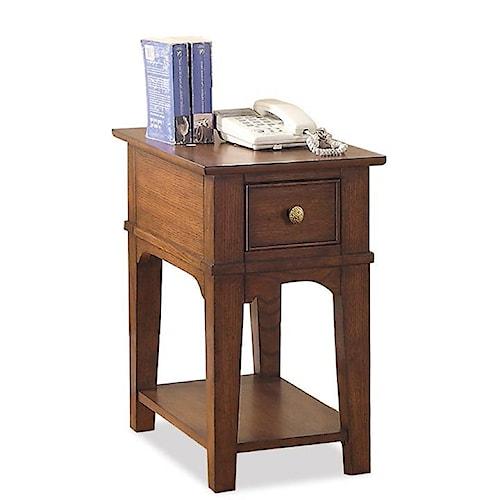 Riverside Furniture Marston Chairside Table w/ Drawer