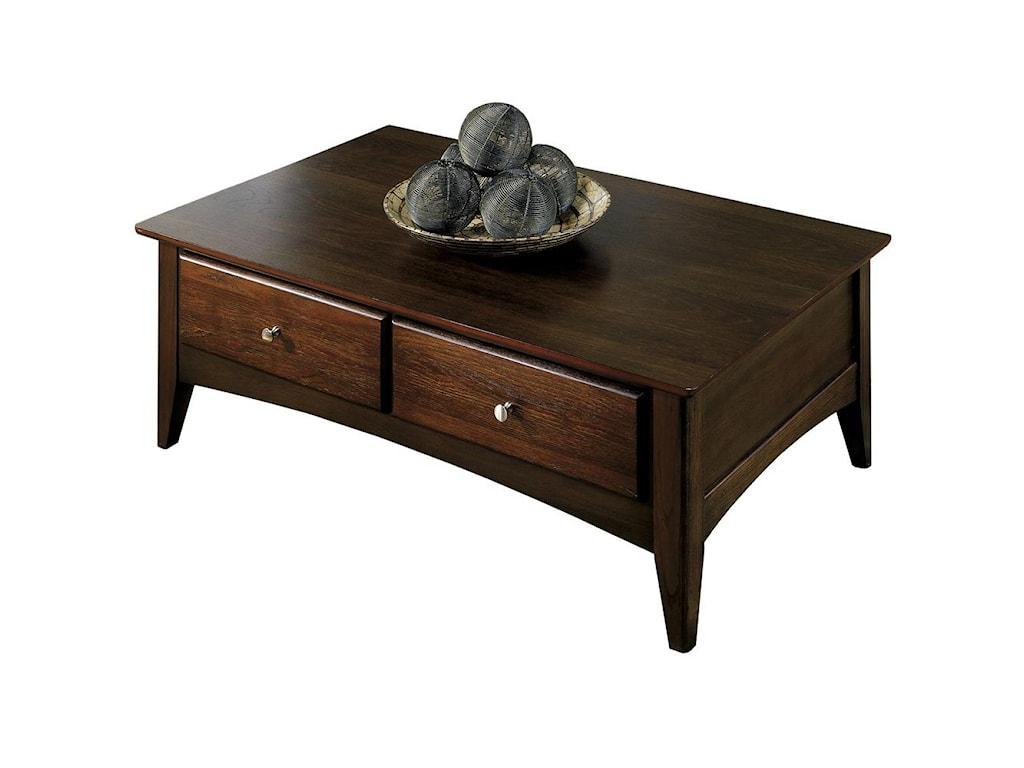 Riverside Furniture Metro IIStorage Coffee Table