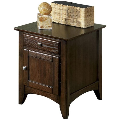 Riverside Furniture Metro II Storage End Table