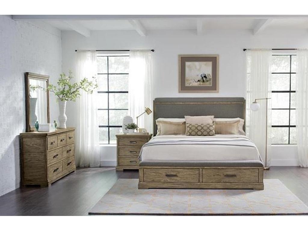 Riverside Furniture Milton ParkKing Bedroom Group