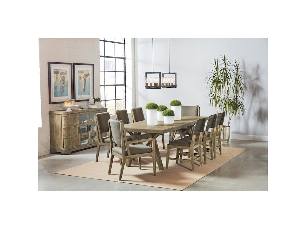 Riverside Furniture Milton Park9-Piece Dining Set