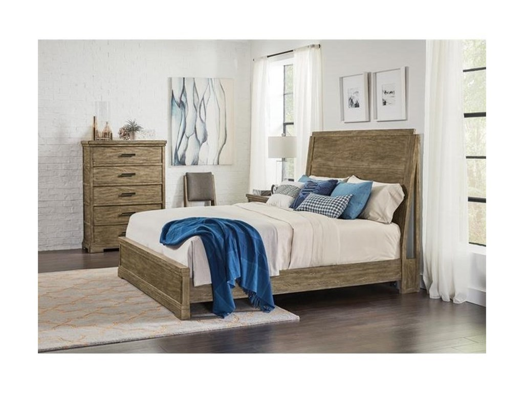 Riverside Furniture Milton ParkQueen Platform Bed