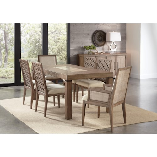 Riverside Furniture Mirabelle Formal Dining Room Group
