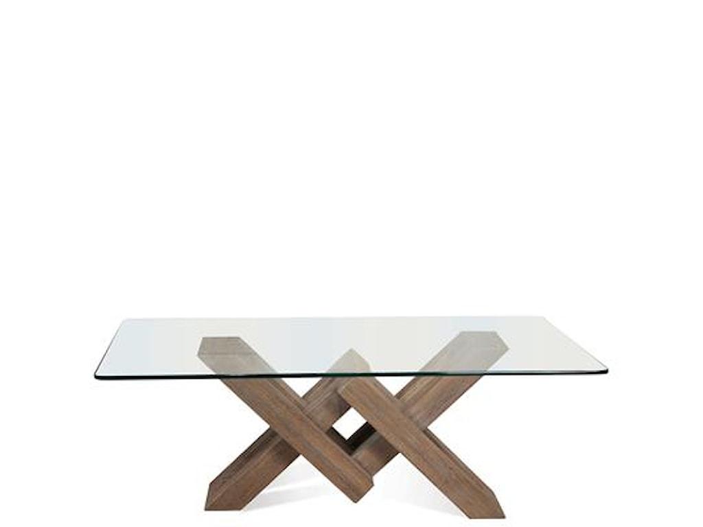 Riverside Furniture MirabelleCocktail Table-Glass Top