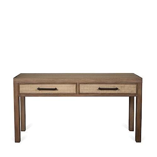 Riverside Furniture Mirabelle 2 Drawer Sofa Table