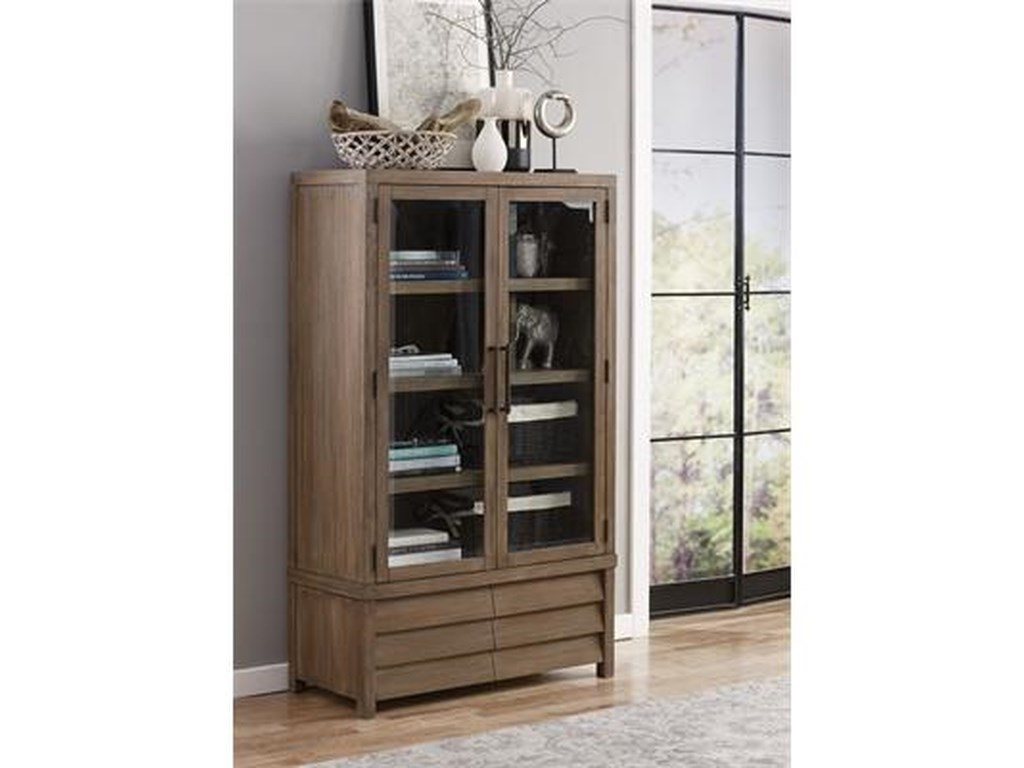 Riverside Furniture MirabelleCabinet Bookcase