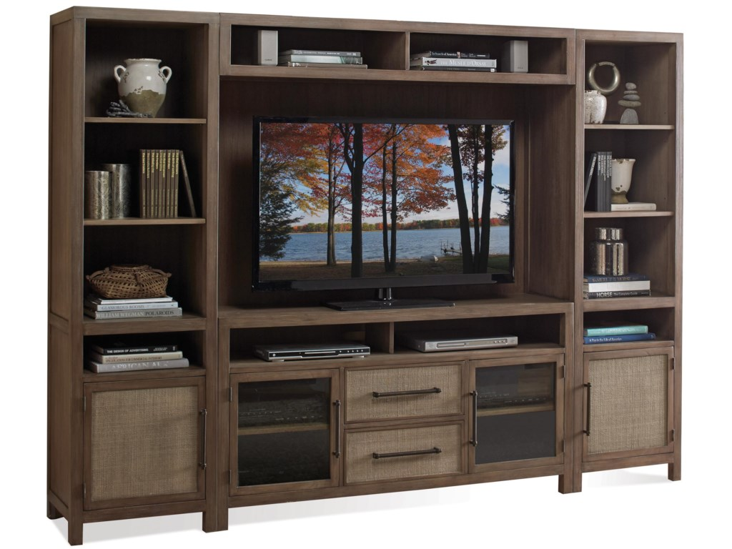 Riverside Furniture MirabelleEntertainment Wall Unit