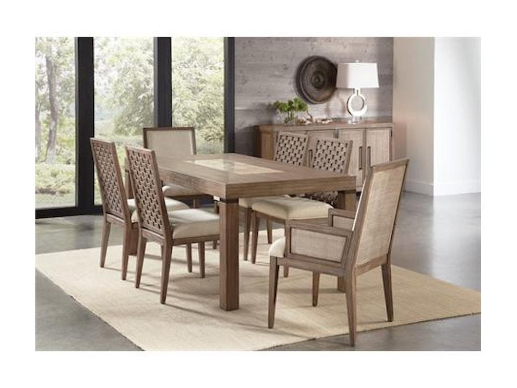 Riverside Furniture MirabelleLeg Dining Table