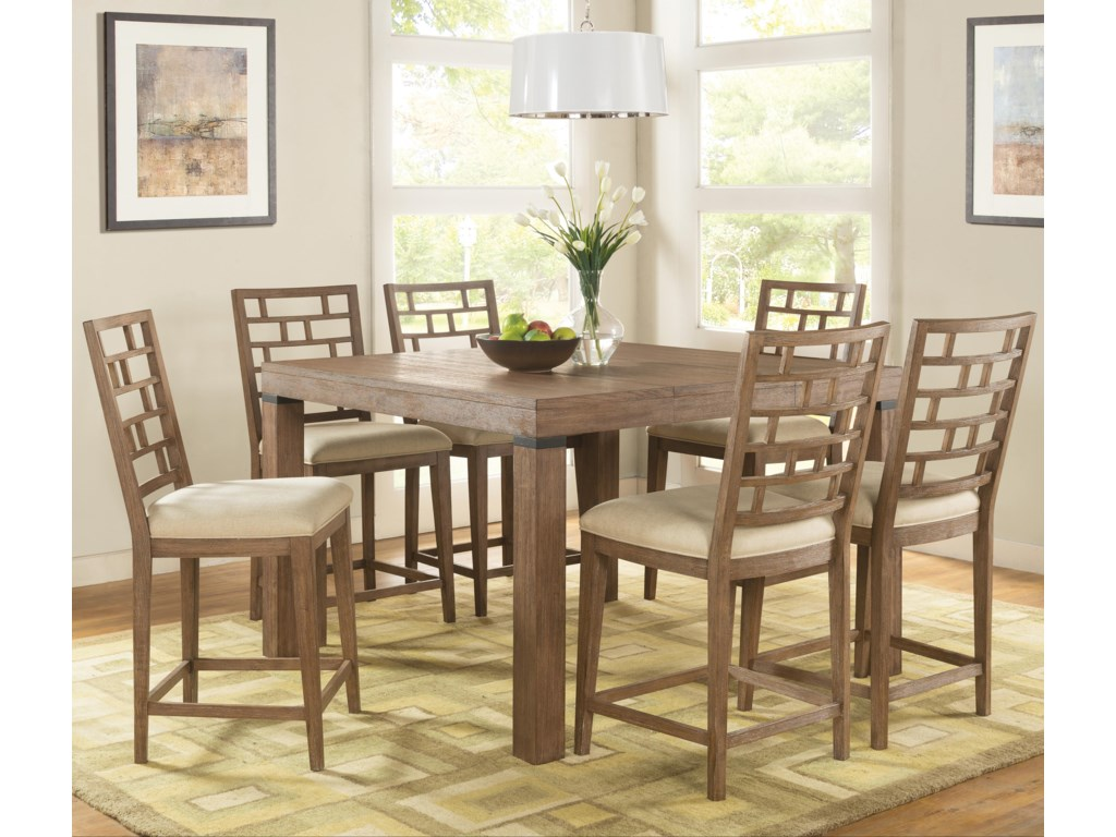 Riverside Furniture Mirabelle7 Piece Counter Height Set