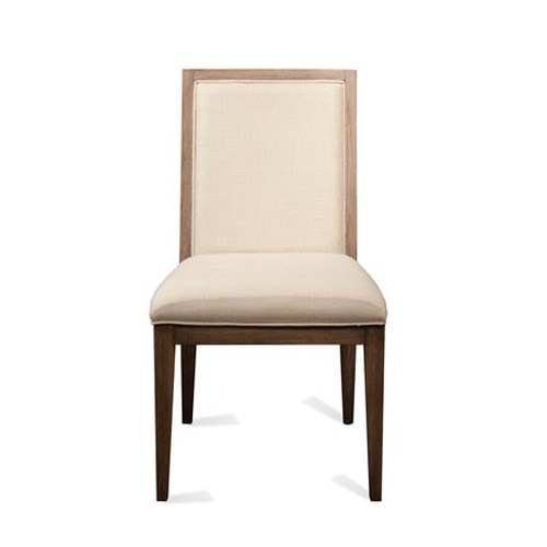 Riverside Furniture Mirabelle Hardwood Solid and Cane Upholstered Side Chair