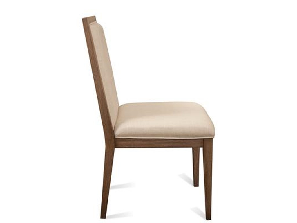 Riverside Furniture MirabelleCane Upholstered Dining Side Chair