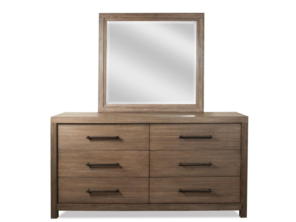 Riverside Furniture MirabelleLandscape Mirror