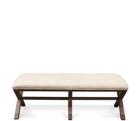 Riverside Furniture Mirabelle 26267 50 Inch Upholstered Bed Bench