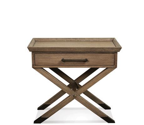 Riverside Furniture Mirabelle 1 Drawer Leg Nightstand