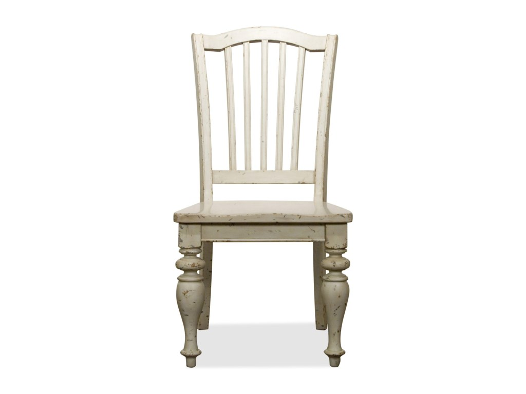 Riverside Furniture Mix-N-Match ChairsWood Seat Side Chair