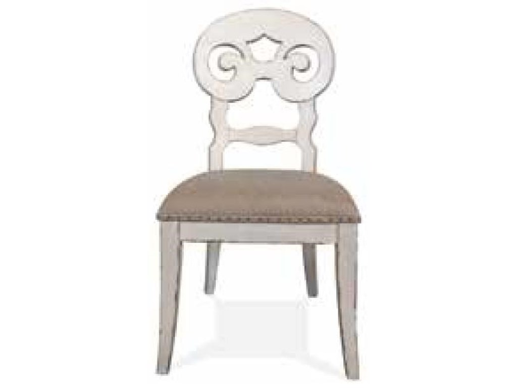 Riverside Furniture Mix-N-Match ChairsScroll Upholstered Side Chair