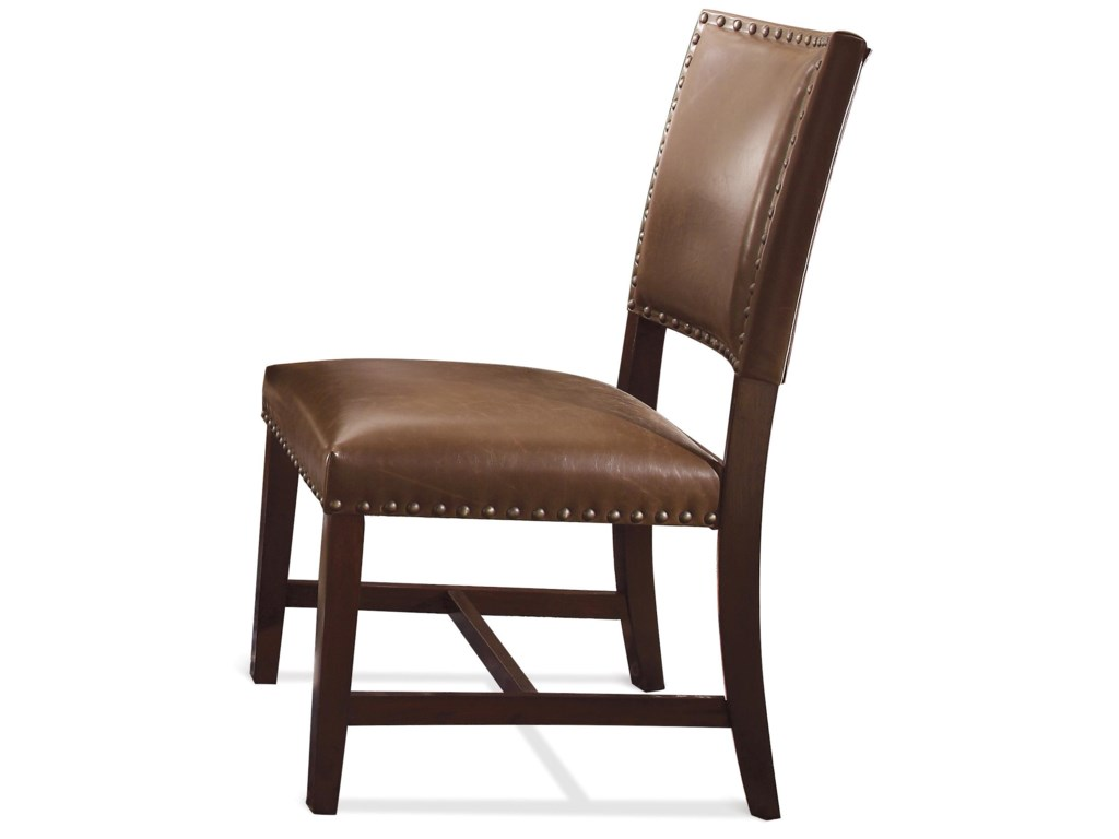Riverside Furniture Mix-N-Match ChairsBonded Leather Uph Parson Chair