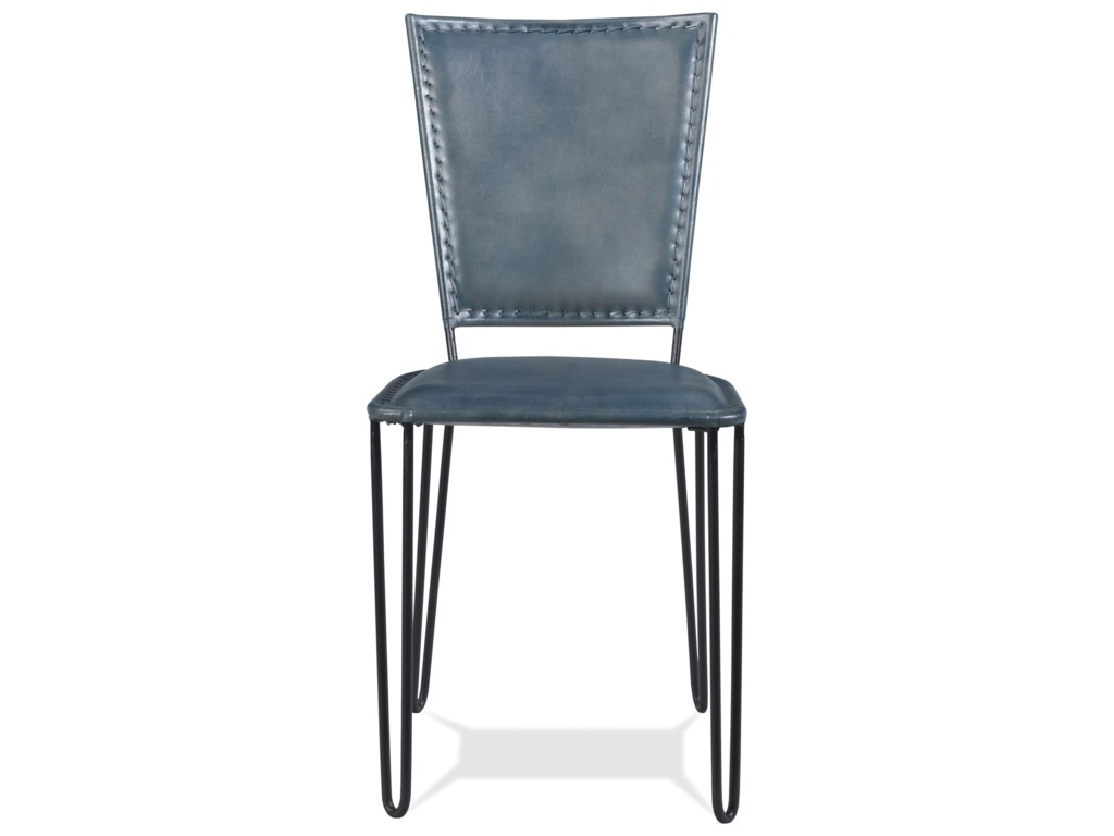 Riverside Furniture Mix-N-Match ChairsBlue Leather Side Chair