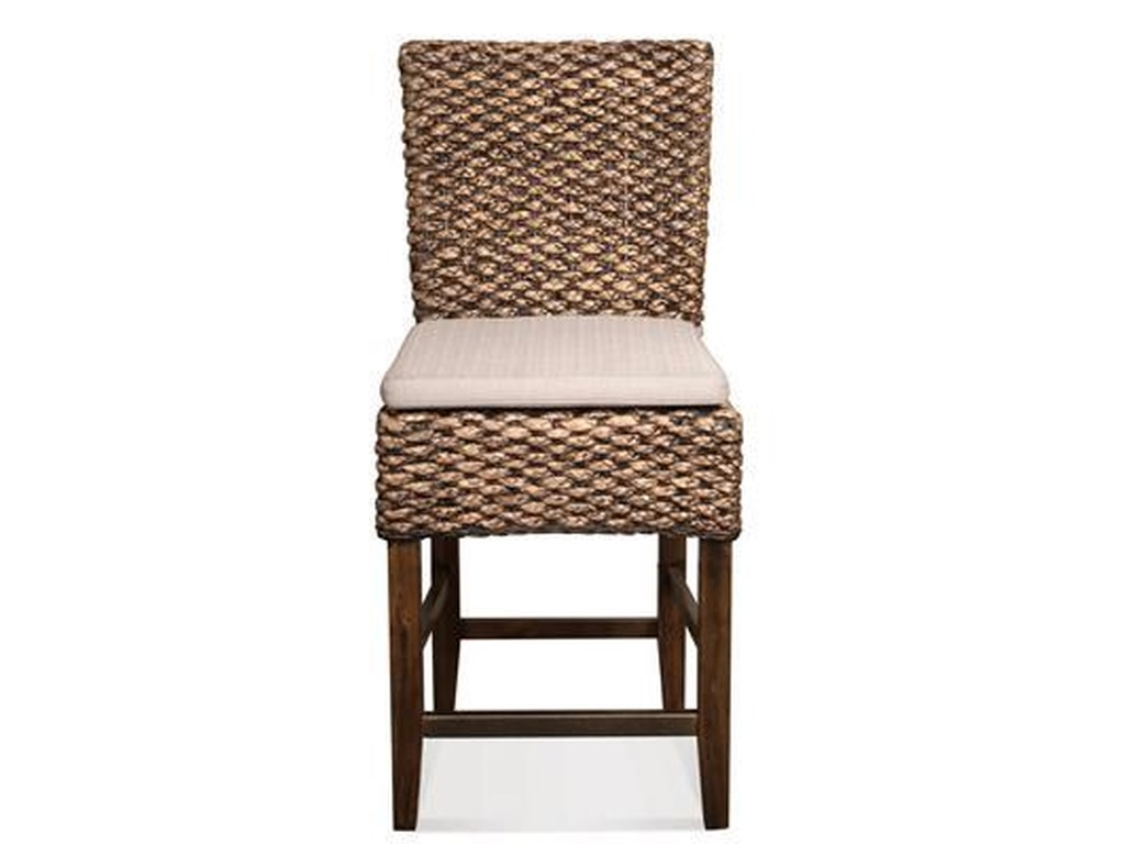 Riverside Furniture Mix N Match Chairs Woven Counter Stool Wayside