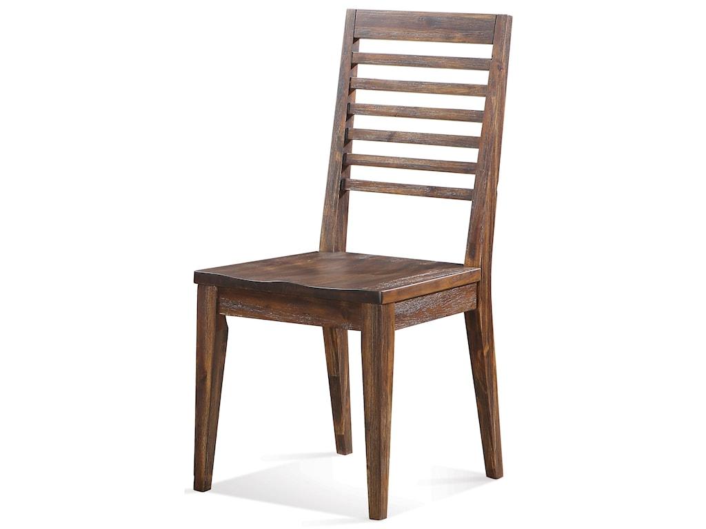Riverside Furniture Modern GatheringsSlat Back Side Chair