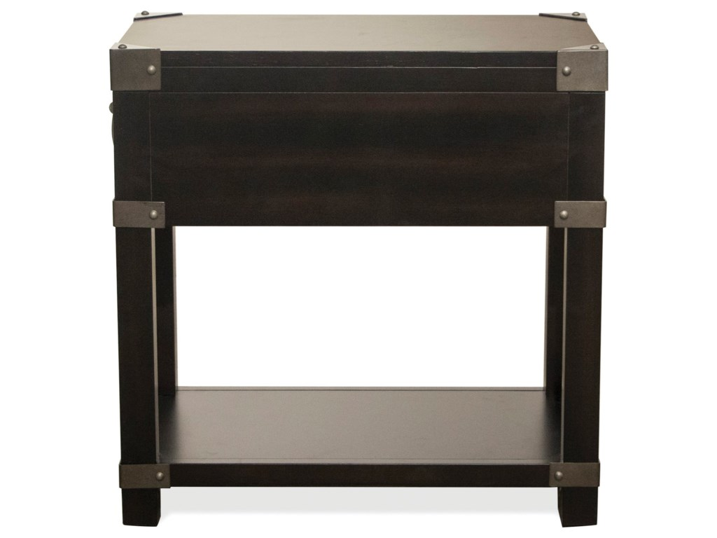 Riverside Furniture MyraChairside Table