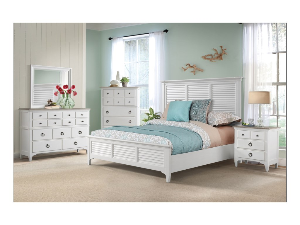 Riverside Furniture MyraQueen Bedroom Group