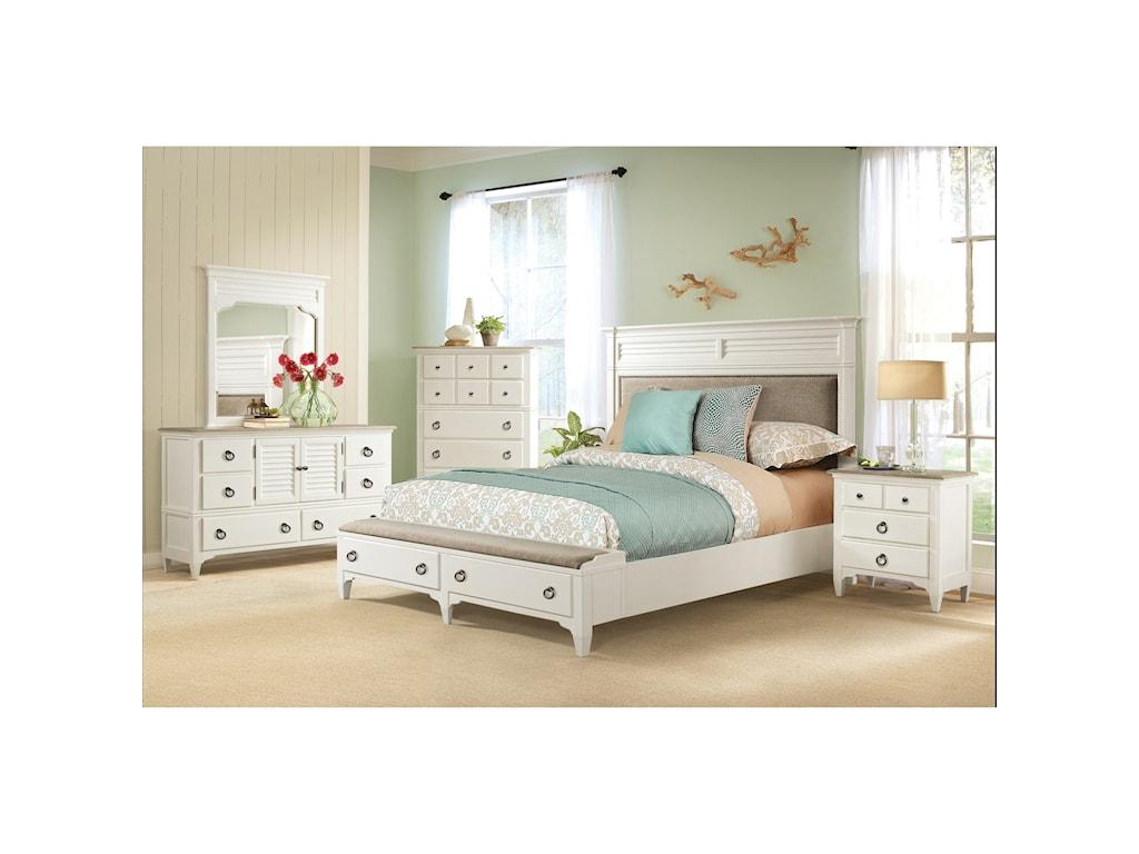 Riverside Furniture MyraQueen Bedroom Group