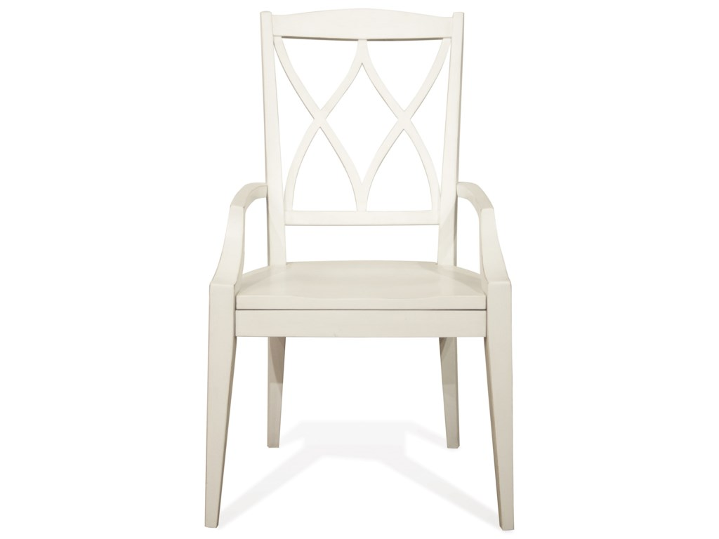 Riverside Furniture MyraXX-Back Arm Chair