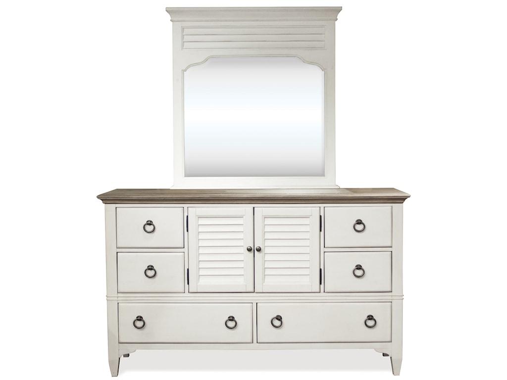 Riverside Furniture MyraLandscape Mirror