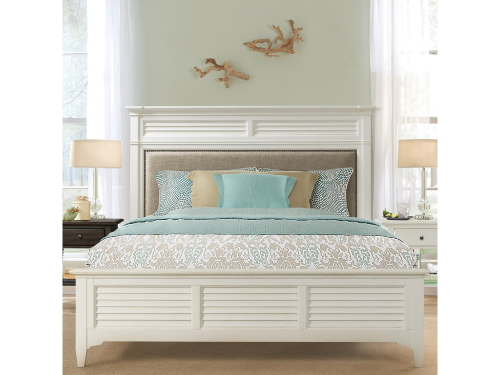 Riverside Furniture MyraQueen Upholstered Bed