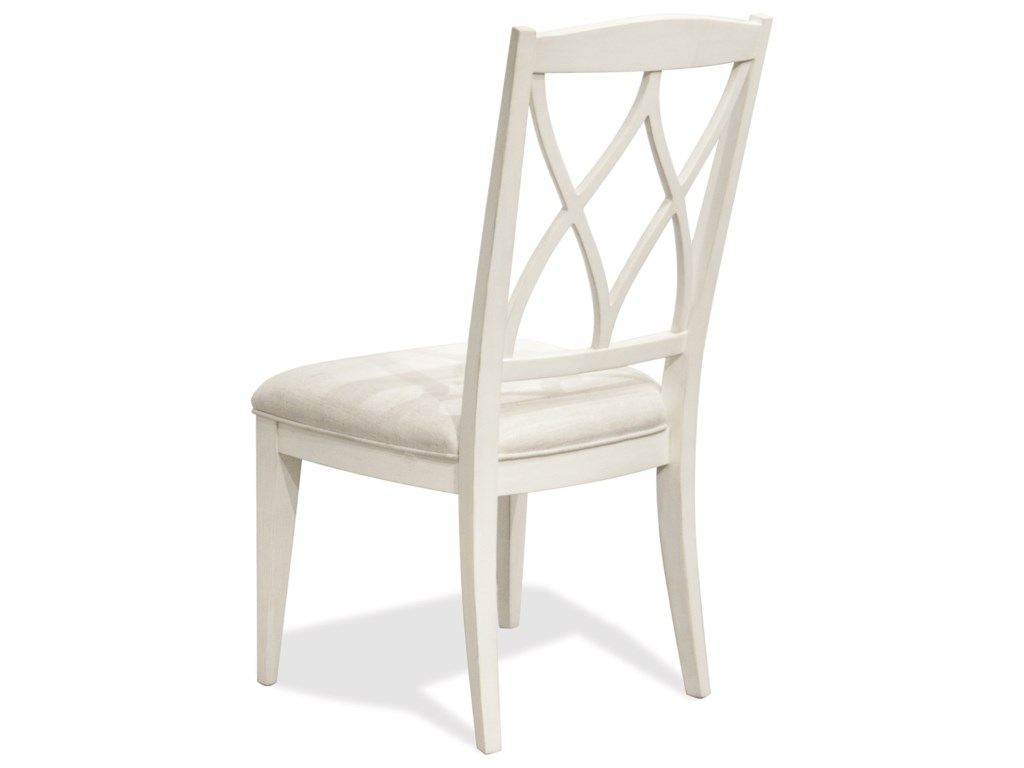 Riverside Furniture MyraXX-Back Upholstered Side Chair