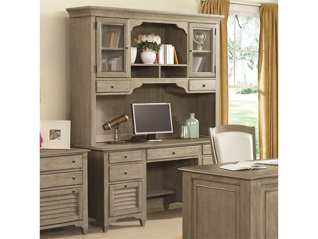 Riverside Furniture MyraCredenza and Hutch