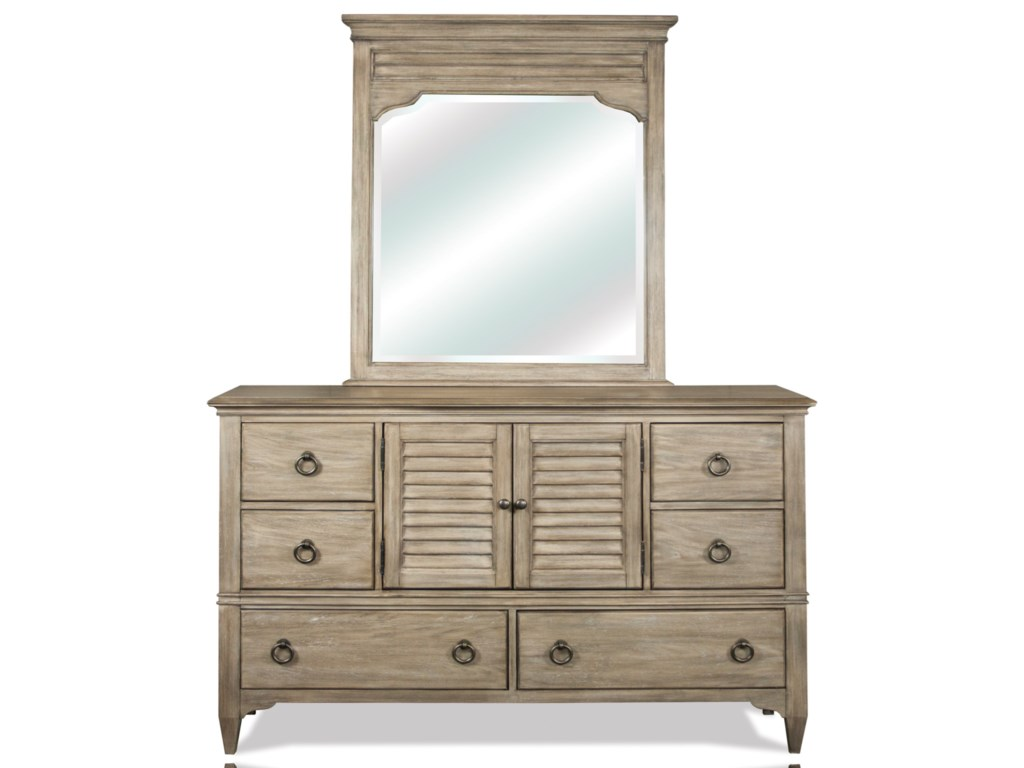 Riverside Furniture MyraLandscape Mirror