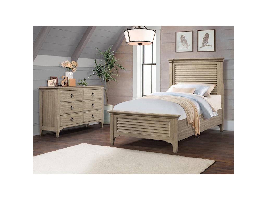 Riverside Furniture Myra6-Drawer Small Dresser