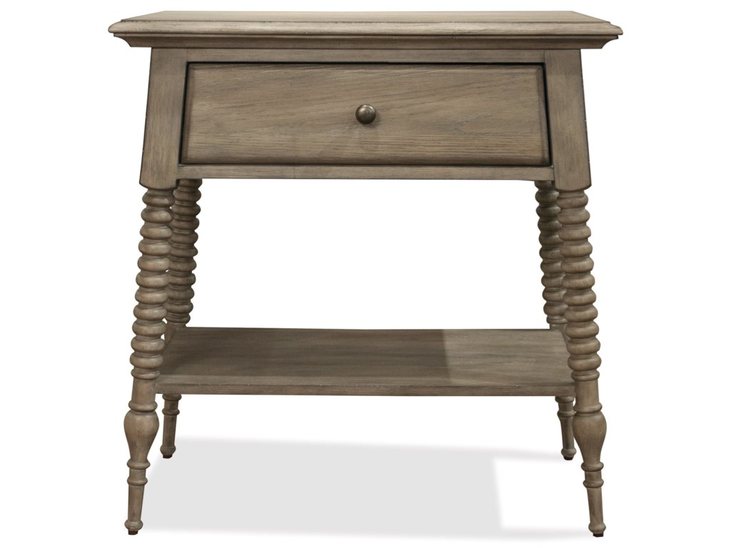 Riverside Furniture Myra1-Drawer Nightstand
