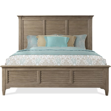 Queen Louver Bed