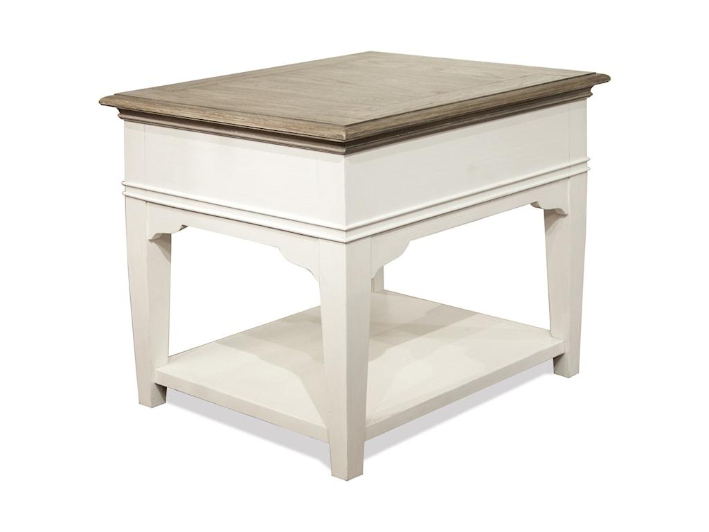 Riverside Furniture MyraLeg Side Table
