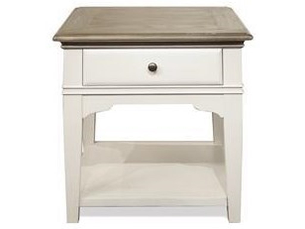 Riverside Furniture MyraEnd Table