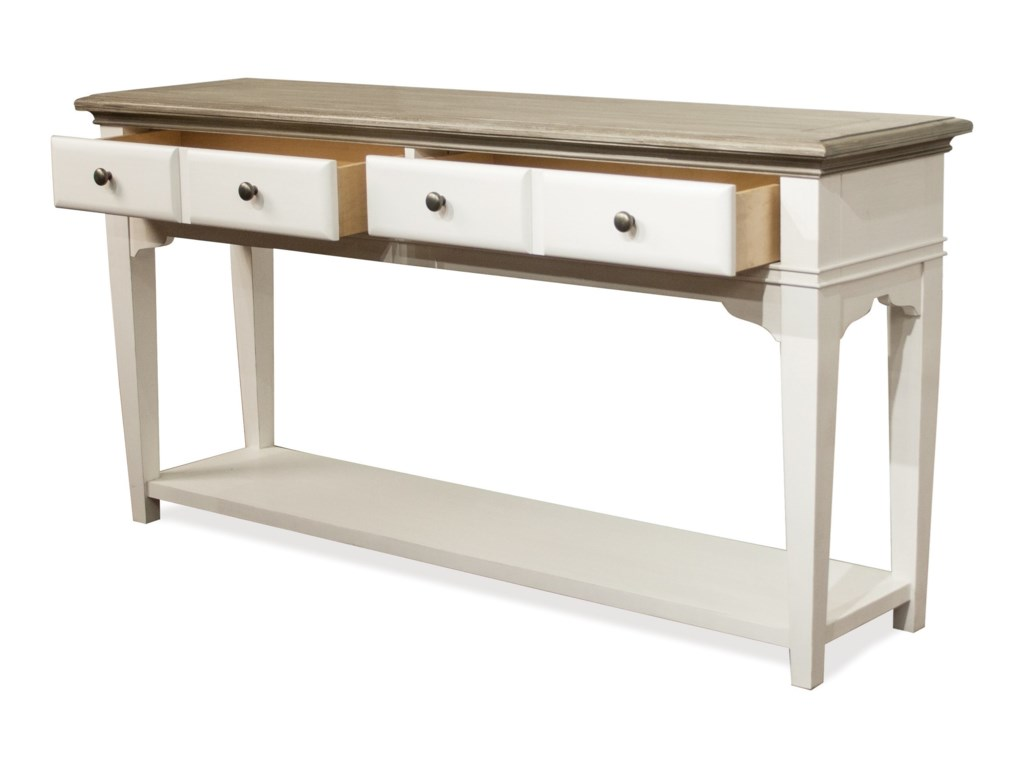 Riverside Furniture MyraSofa Table