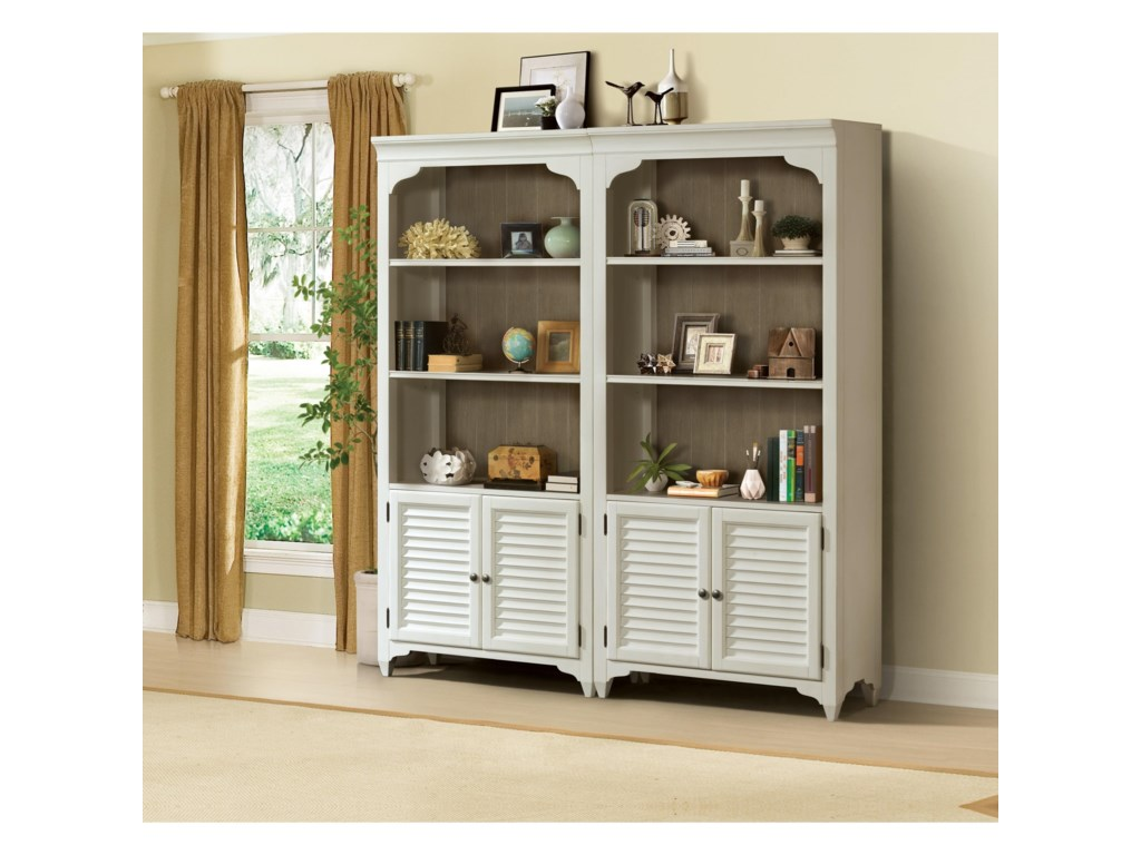 Riverside Furniture MyraBunching Bookcase