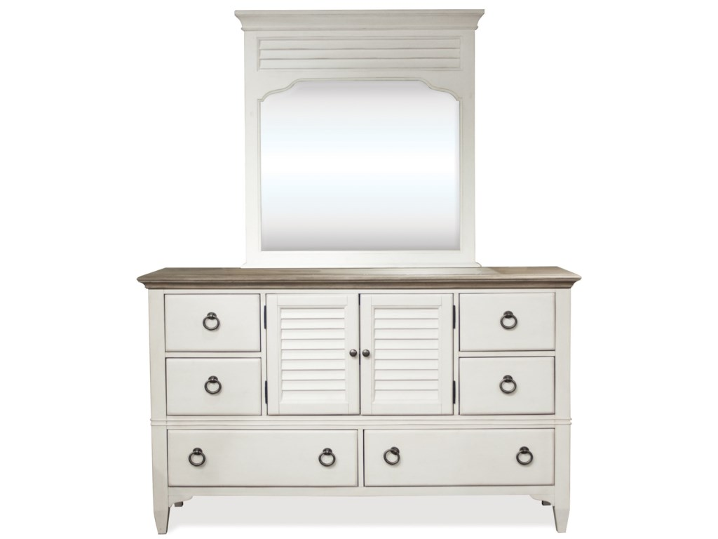 Riverside Furniture MyraDoor Dresser