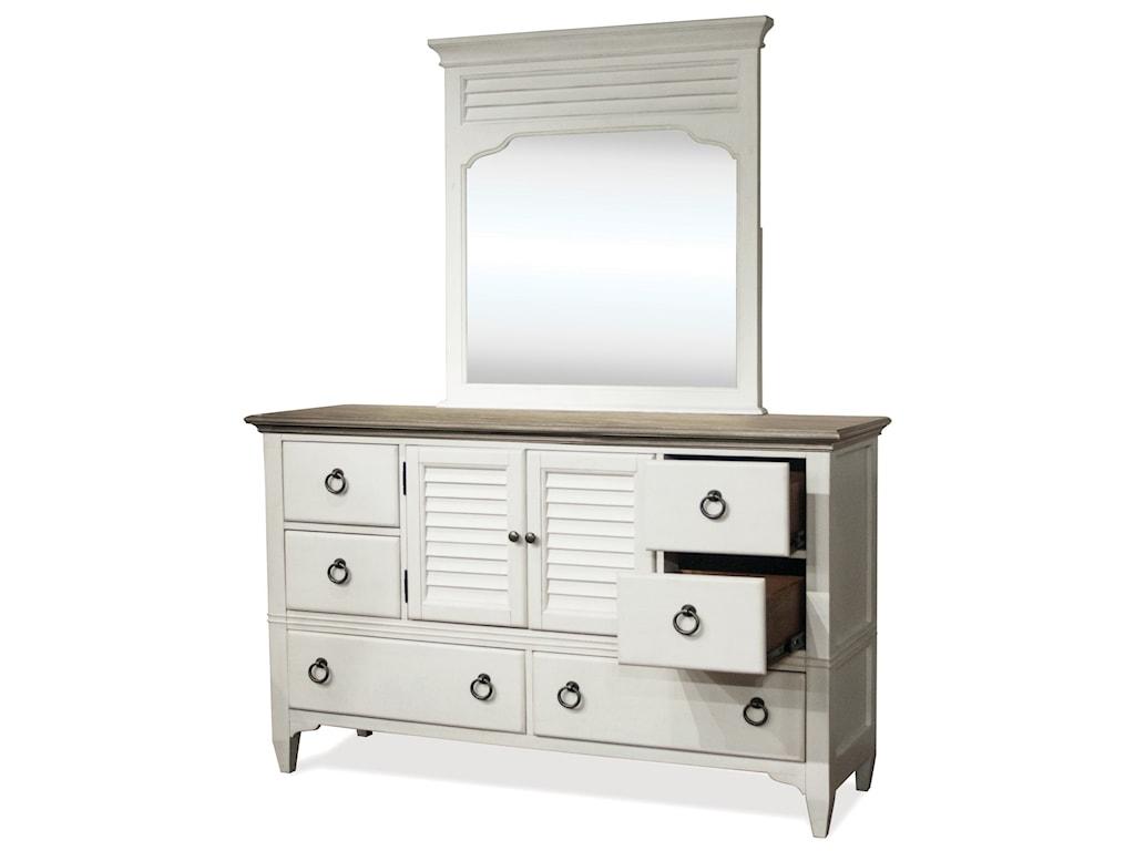 Riverside Furniture MyraDoor Dresser