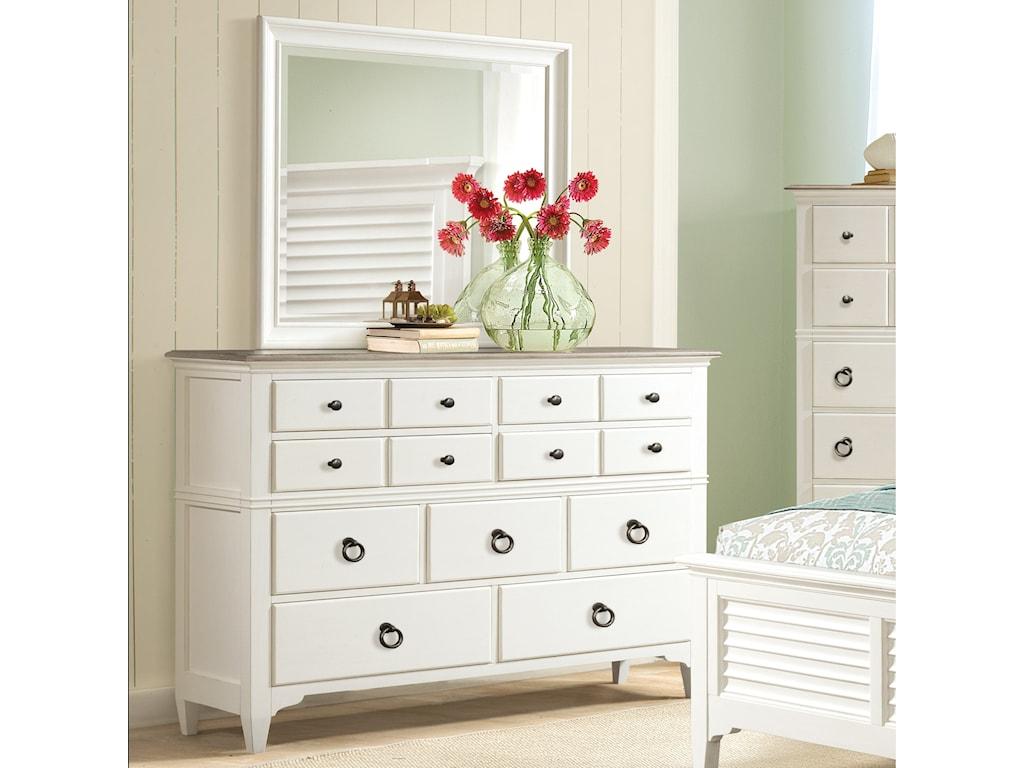 Riverside Furniture Myra9-Drawer Dresser