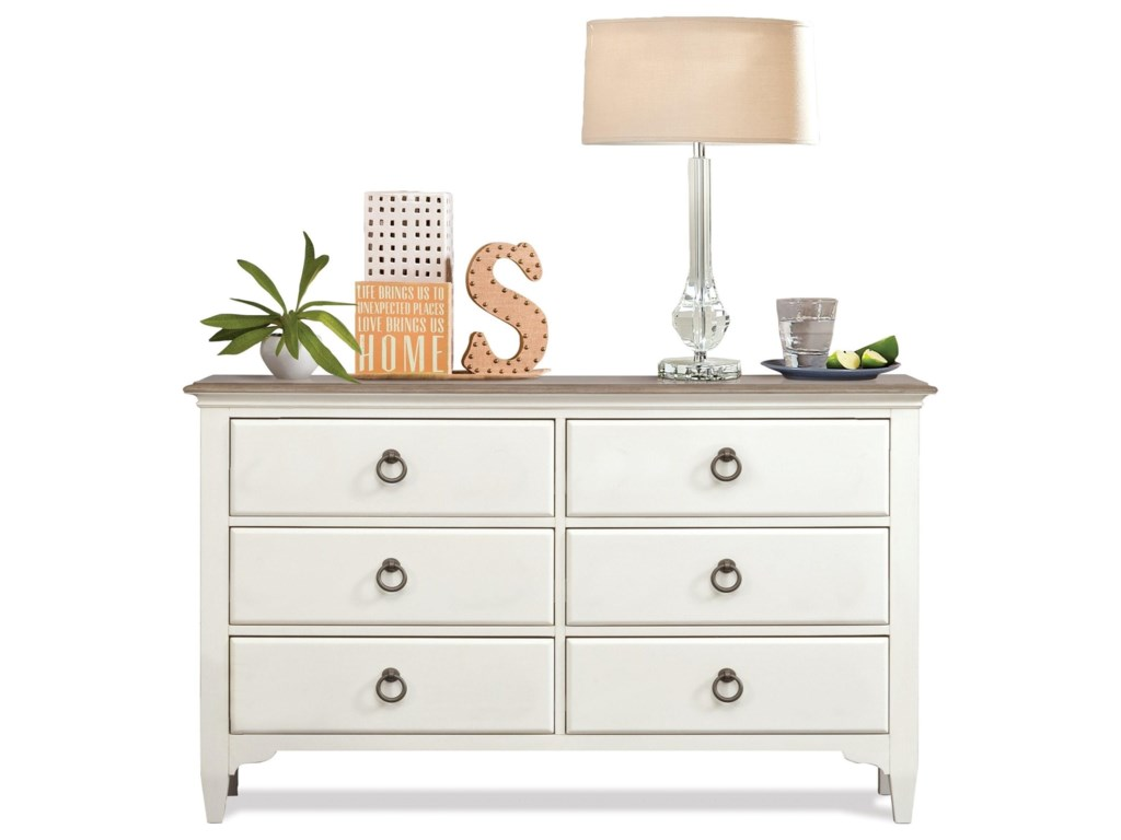 Riverside Furniture Myra6-Drawer Small Dresser