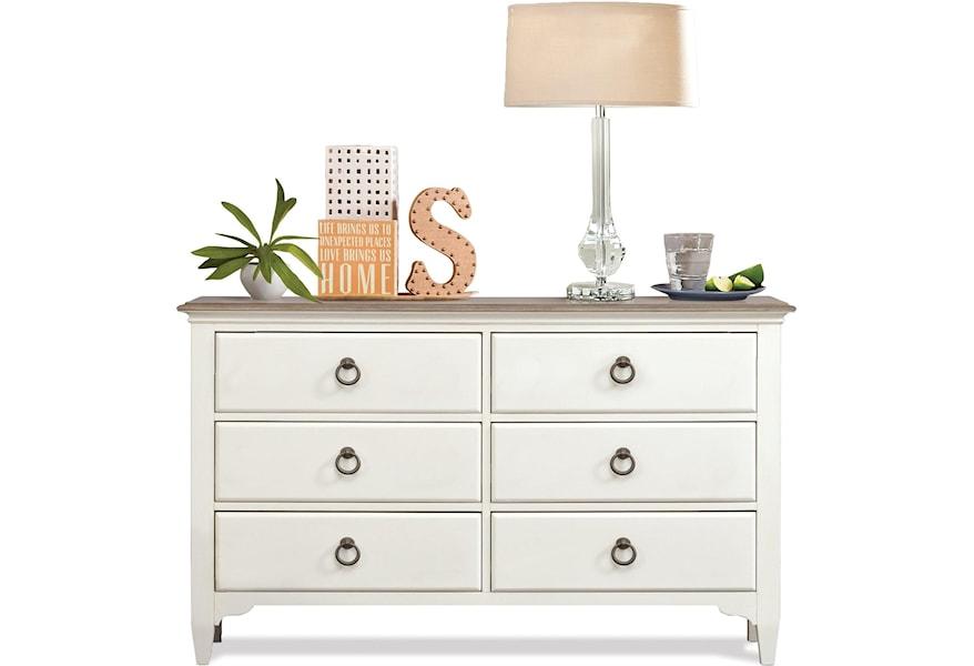 Myra 6-Drawer Small Dresser